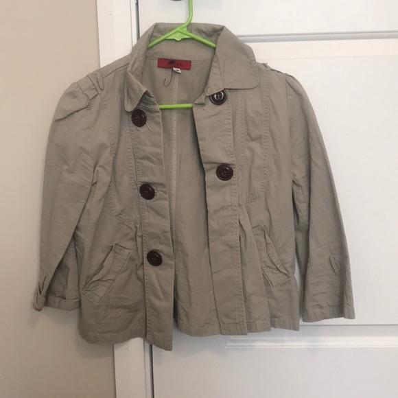 AKIRA Jackets & Blazers - Khaki blazer